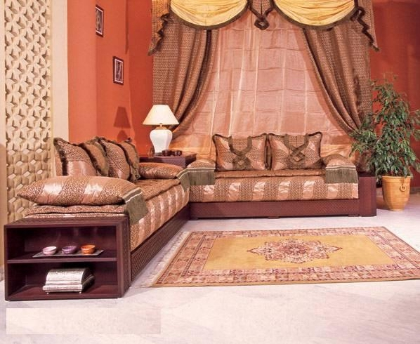 Arabic sitting room for Arabic living room decoration