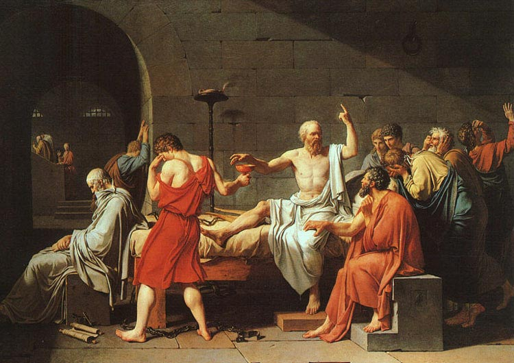 how does socrates define death in the apology