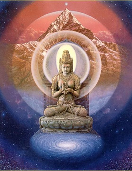 buddhism and seven dimensions